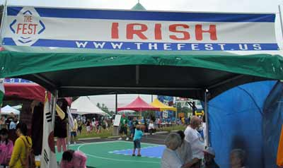 Irish Catholics booth at the Cleveland Fest 2007