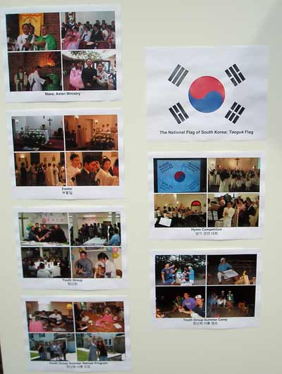 Korean display at the Cleveland Catholic Fest 2007