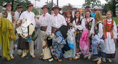 Young Polish Dancers at the Cleveland Catholic Fest