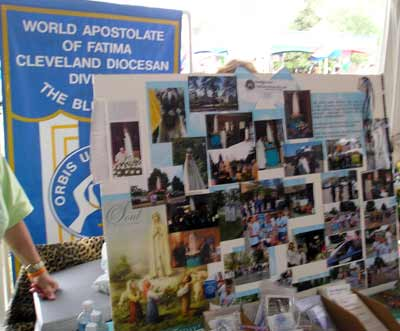 World Apostolate of Fatima - Cleveland display