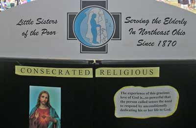 Little Sisters of the Poor display