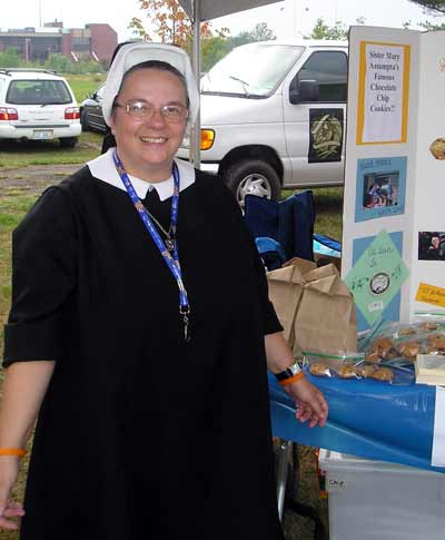 Sister  of the Holy Spirit at the Catholic Fest