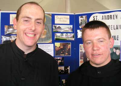 Monks from St. Andrew's Abbey