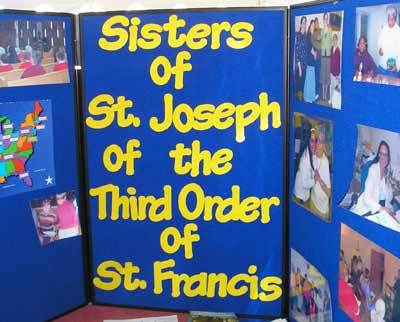 Sisters of St. Joseph display at The Fest