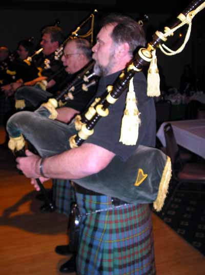 Mike Doley and Pipers