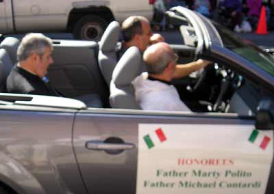 Father Marty Polito and Father Michael Contardi