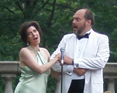 Andrea Anelli and J.R. Fralick perform