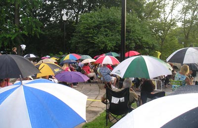 Umbrellas at Opera in the Garden