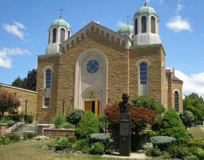 Saint Sava Serbian Orthodox Cathedral in Cleveland
