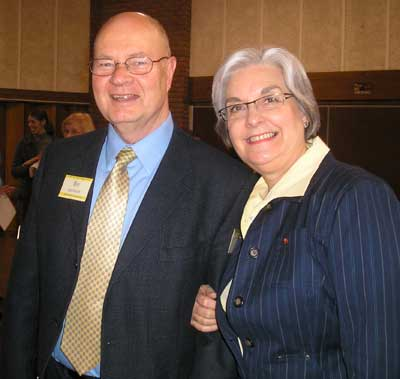 Cultural Chairman Bo Carlsson and wife Glenda