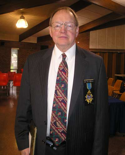 Rolf Bergman, (born in Sweden) Grand Master of entire District
