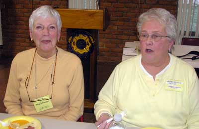 Mary Schoeniger  and Sharen Swanson Tizzano