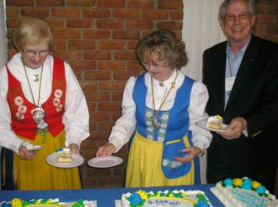 Cutting the 100 year cake