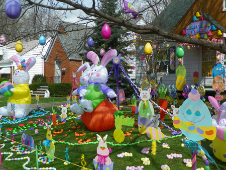 Jellybeanville in Euclid Ohio