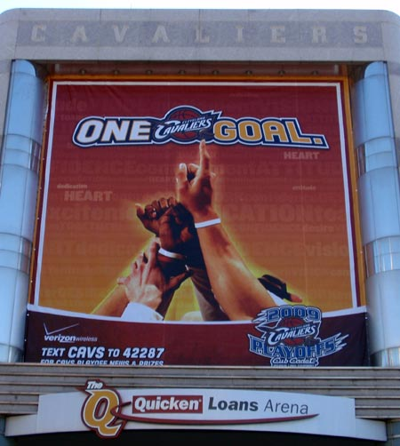 Cleveland Cavaliers playofs 2009 - one goal