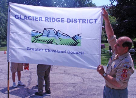 Flag Day 2009 Glacier Ridge Cleveland Boy Scouts