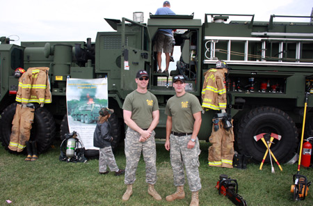 5694th Engineering Detatchment from Mansfield, Ohio