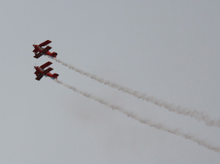 Red Eagle Air Sports acrobatic planes