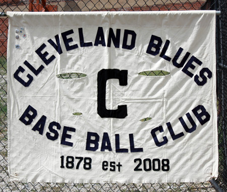 Cleveland Blues Baseball Club banner