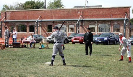 Cleveland Blues Baseball Club vs Crossing Rails