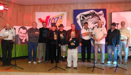 Ghoulardifest group on stage