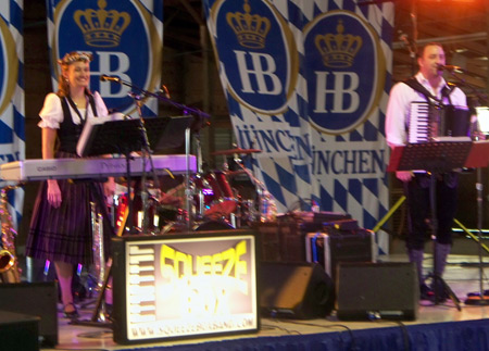2010 Cleveland Labor Day Oktoberfest German Band