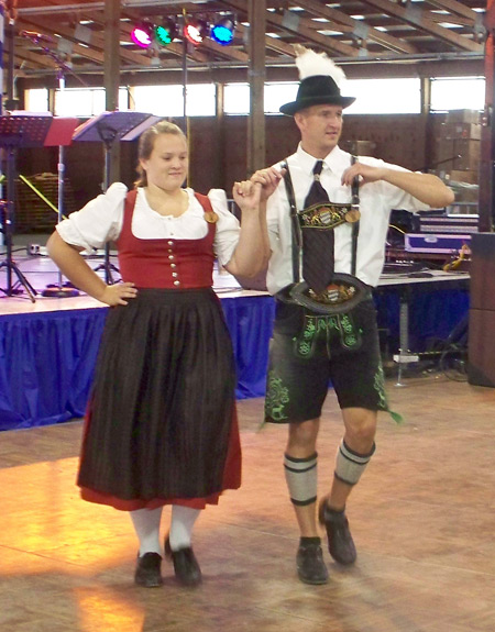 2010 Cleveland Labor Day Oktoberfest German dancers