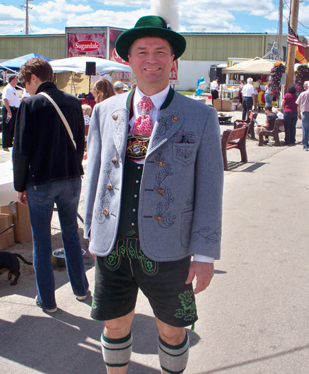 German costume at Cleveland Oktoberfest