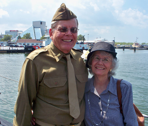 Veteran Robert Hetman and his wife Margaret