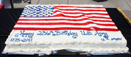 US Army Birthday Cake