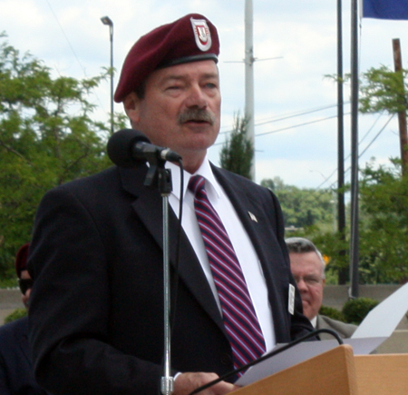 Jim Quisenberry, Past-President of the Joint Veterans Commission of Cuyahoga County