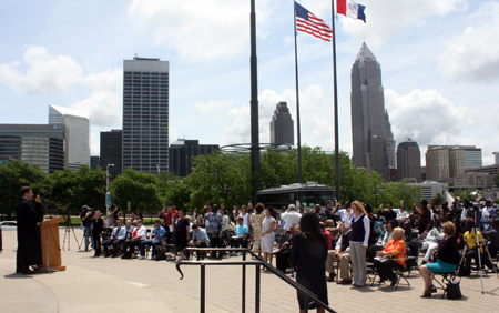 Naturalization Ceremony at Rock and Roll Hall of Fame