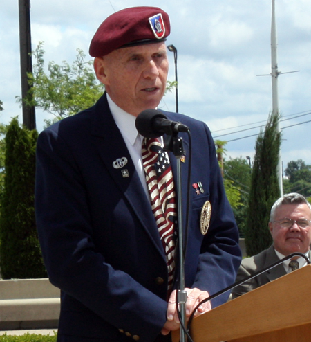 Rimantas Ray Saikus, President of the Joint Veterans Commission of Cuyahoga County