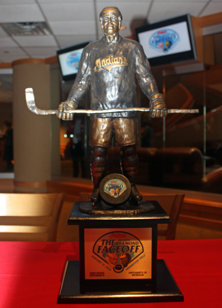 Cleveland Indians Hockey Trophy