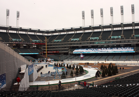 Cleveland Indians Snow Days