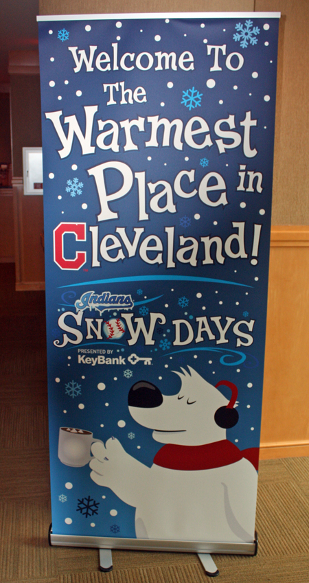 Warmest Place in Cleveland sign