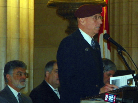 Rimantas Ray Saikus, president  of Joint Veterans Commission of Cuyahoga County