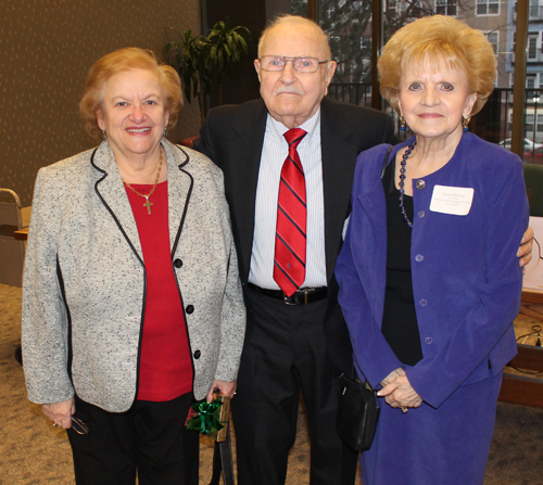Mary Rose Oakar with Ed and Irene Morrow