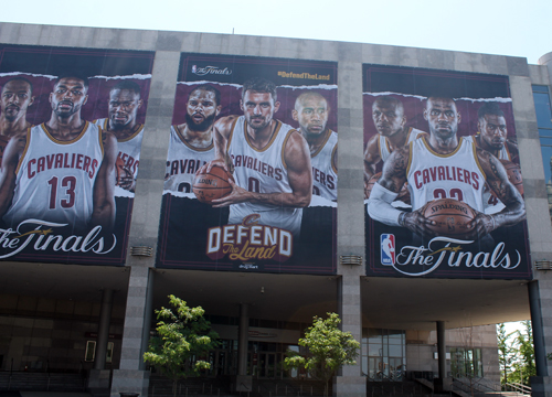 Cleveland Cavaliers in the 2017 NBA Finals - Quicken Loans Arena Photos