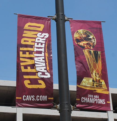 Cleveland Cavaliers NBA Championship Banner