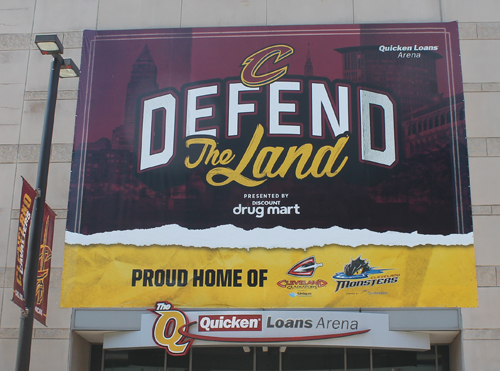 Defend the Land - Cleveland Cavs