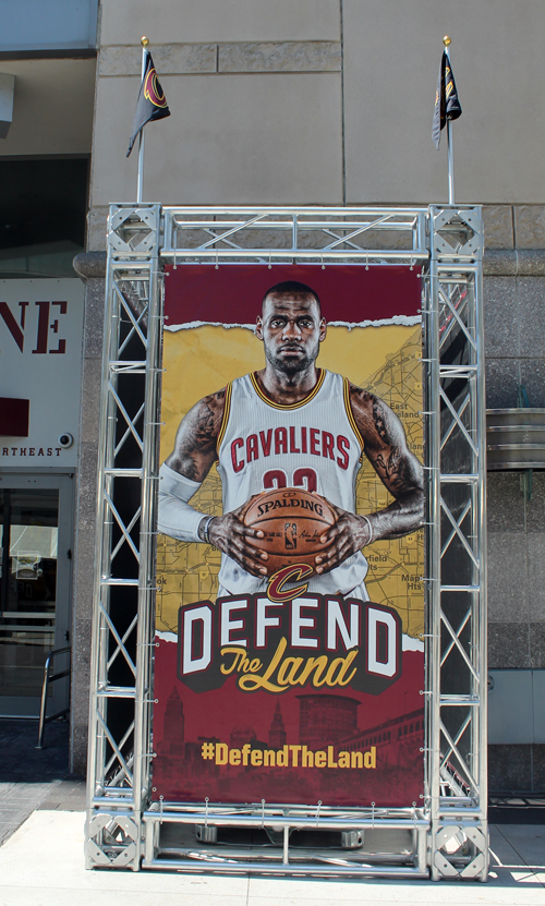 Lebron James - Defend the Land