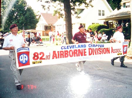 Cleveland  82nd Airborne parade