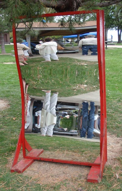 Euclid Beach Park Funhouse Mirror