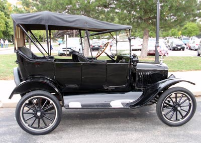 Euclid Beach Park Car Show - Model T Ford