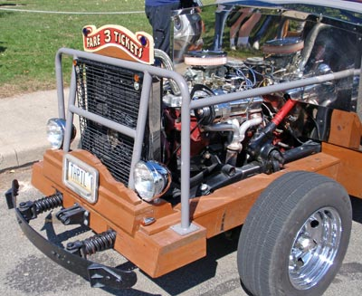 Engine of the Euclid Beach Thriller Car