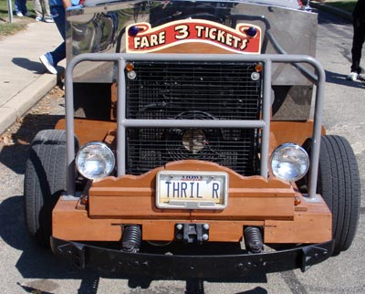 Front of the Euclid Beach Thriller Car