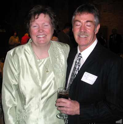 Honoree Sr. Maureen Burke and brother Mike Burke
