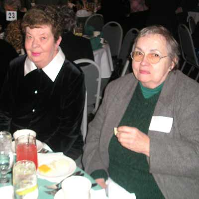 Pat Dowd, President of Padraic Pearse Center and 2005 Walk of Life Honoree and Sue Guzik
