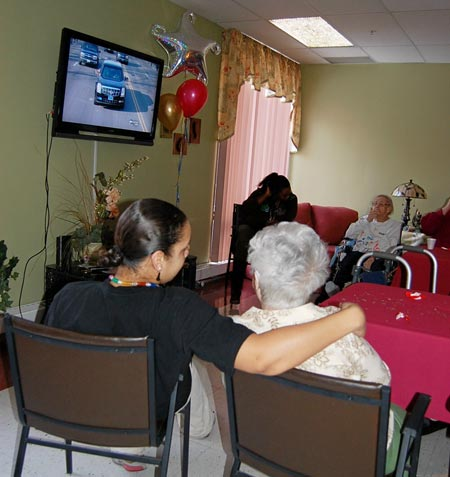 Seniors watch Barack Obama Inauguration